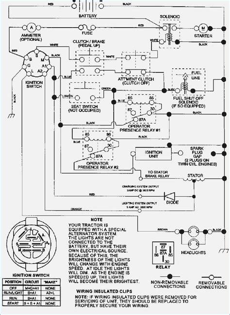 wiring diagram for a craftsman mower vehicledata co