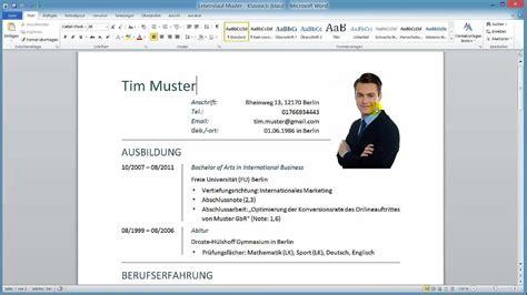 Wie Erstelle Ich Einen Lebenslauf by Wie Erstelle Ich Einen Lebenslauf Muster24 Net