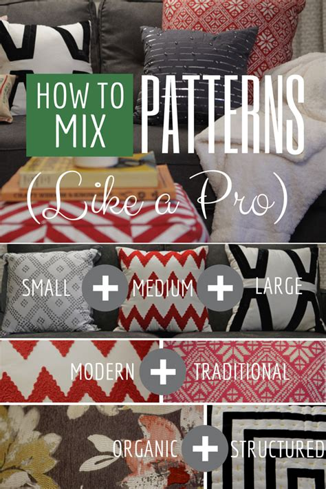 how to mix patterns how to mix patterns like a pro hgtv crafternoon hgtv
