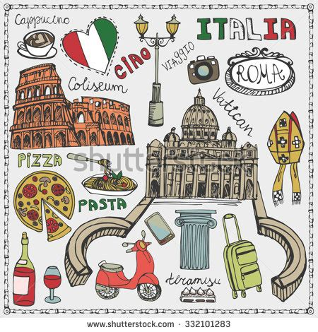 italia clipart travel clipart italy pencil and in color travel clipart