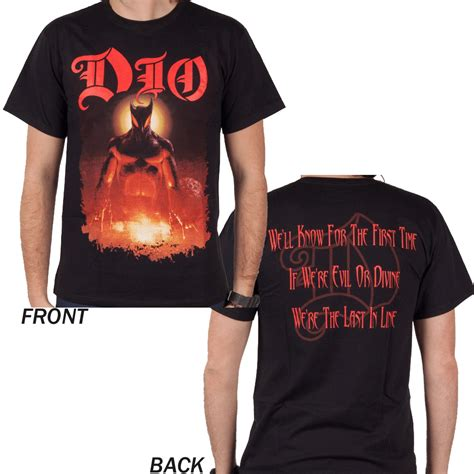 dio 2 t shirt planet rock last in line dio t shirt