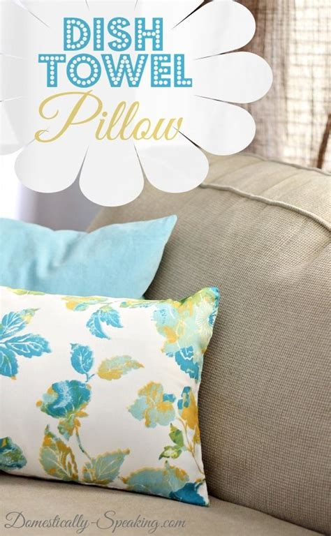 dish towel pillow feather my nest towels