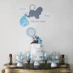 Baby Boy Bathroom Ideas by Geometric Blue Gold Elephant Baby Shower