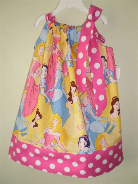Handmade Disney Princess Dresses - princess pillowcase dress i like this fabric disney