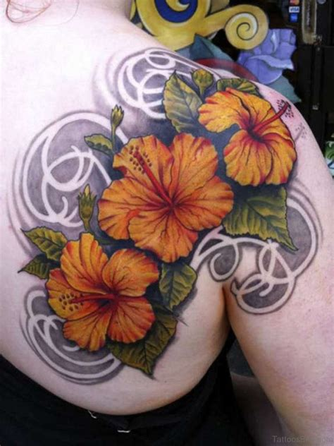 hibiscus flower tattoo designs 51 hibiscus flower tattoos for shoulder