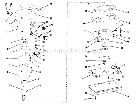 Craftsman 75618827 Parts List And Diagram