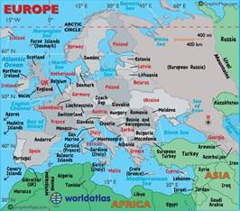 Europe Travel Map by Europe Travel Information Europe Vacation Attractions