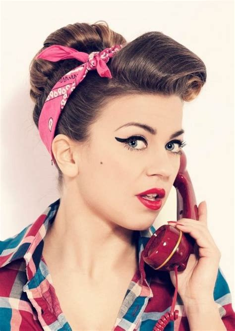 poodle cut hairstyle in 50s 50s hairstyles ideas to look classically beautiful long