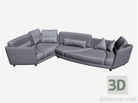 divani 3d 3d modella angolo divano deha 1 dal produttore il loft