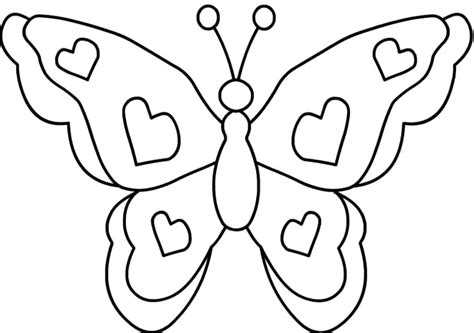 butterfly color pages for kids az coloring pages