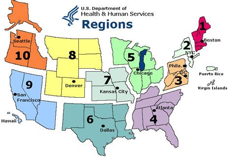 printable map of the united states regions sentinel physician regional map 2008 2009