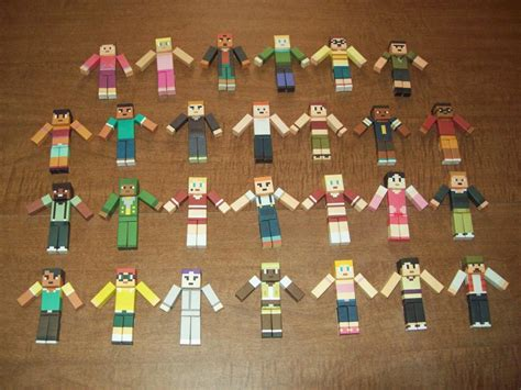 Total Papercrafts - total drama mc papercrafts 2nd and 3rd by cahenry12 on