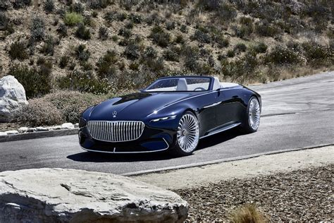 auto maybach de vision mercedes maybach 6 cabriolet is officieel