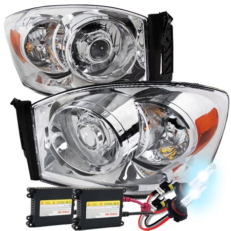 hid headlights dodge ram 2500 hid xenon 06 08 dodge ram 1500 2500 3500 projector