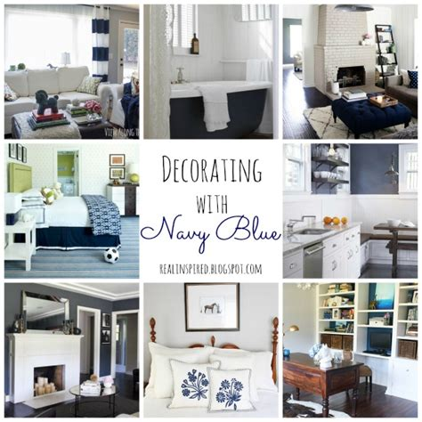 Real Inspired Decorating With Navy Blue Navy And Yellow