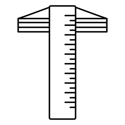 Drawing T Square by T Square Drawing Intrument Architect Transparent Png