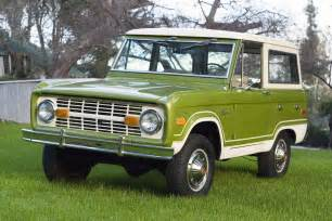 70s Ford 70 S Ford Bronco