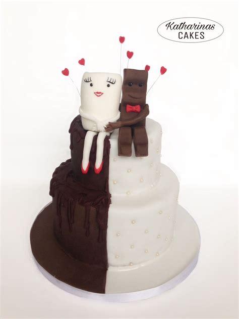 Hochzeitstorte Milch Und Schokolade by 51 Best Motivtorten Fondanttorten 3d Torten Ombr 233