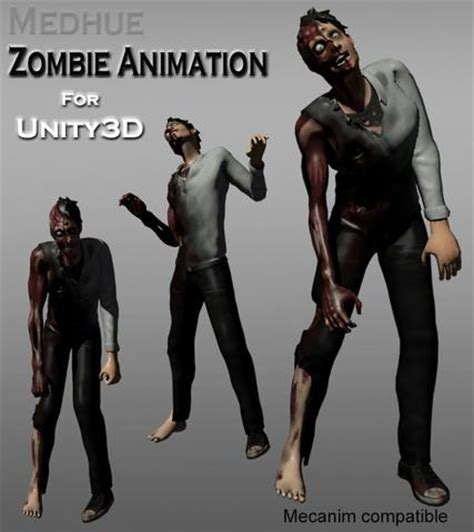unity tutorial zombie medhue unity3d zombie animation medhue animations