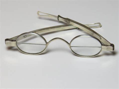 silver franklin bifocals beautiful antique