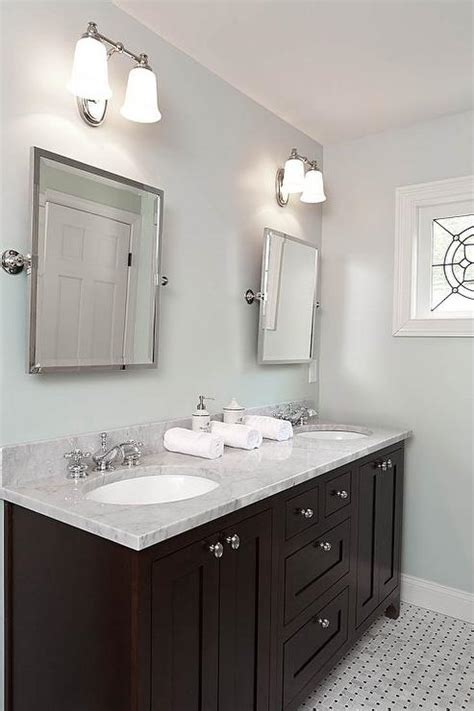 painting bathroom vanity espresso espresso double vanity transitional bathroom renewal