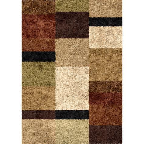 orian impressions shag 3703 brigim copper area rug