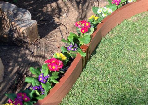 landscape edging ideas  easy ways  set  garden