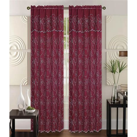 kashi home selma 55 in x 84 in curtain panel in