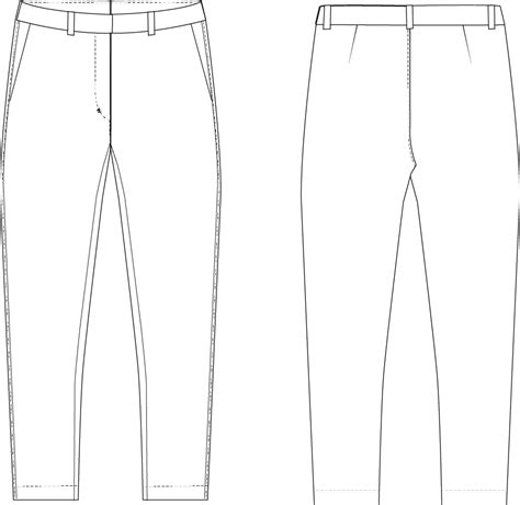 pattern making by the flat pattern method pdf perfect fit flat front pants the fold line
