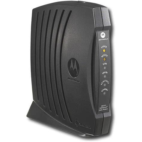 Modem Adsl Motorola Motorola Surfboard Sb5101n Cable Modem W Ac Adapter Ethernet Cable Ebay