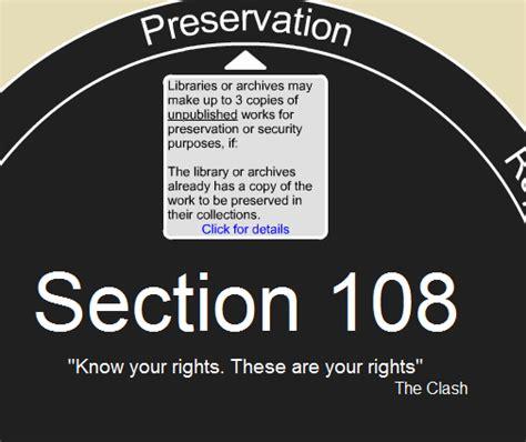 section 108 copyright copyright litigation blog fair use fridays copyright act