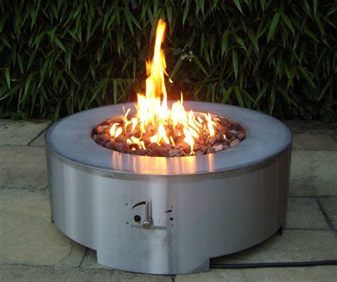 terrassenfeuer gas selber bauen arcturus firepit table gas pits