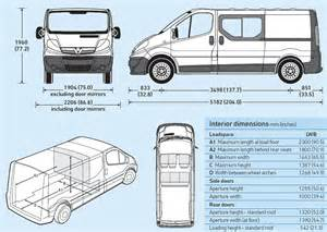 Vauxhall Vivaro Dimensions Opel Vivaro 19 Cdt Picture 2 Reviews News Specs Buy Car