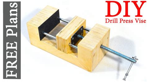 steunk diy pdf diy drill press vice sturdy diy drill
