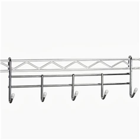 wire shelving accessories coat rack for wire shelving