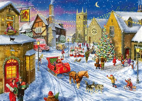 gibson christmas puzzles 2015