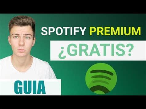 como conseguir spotify premium gratis para siempre como conseguir spotify premium para siempre no tarjetas