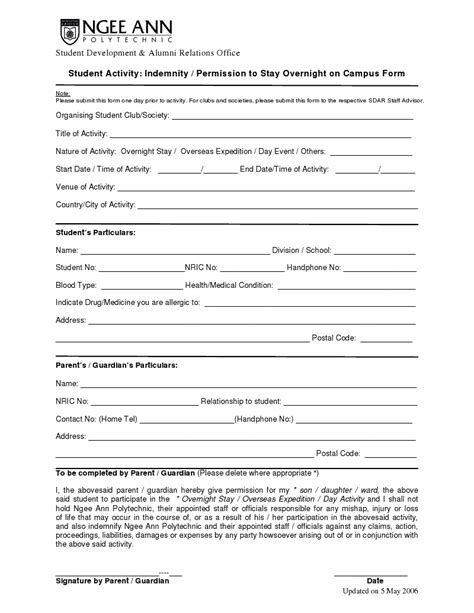 indemnity form template invitation templates indemnity
