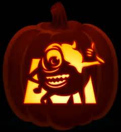 mike wazowski pumpkin carving template mike wazowski orange and black pumpkins