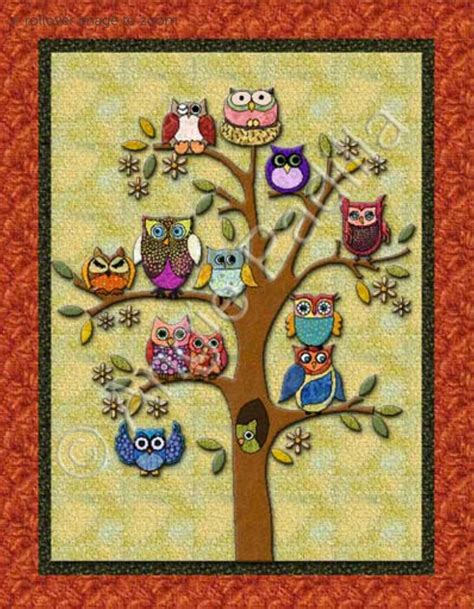 Quilt Owl by Beautiful Owl Quilt Ideas For Class Quilt