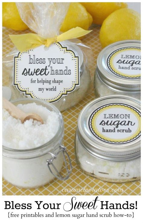 Handmade Sugar Scrub - lemon sugar scrub bless your sweet lemon sugar
