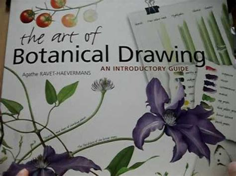 the art of botanical the art of botanical drawing book review speak thai youtube