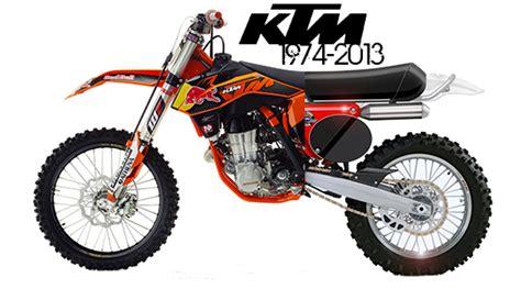 Ktm History Ktm Motocross Bikes 1974 2013 History Lesson