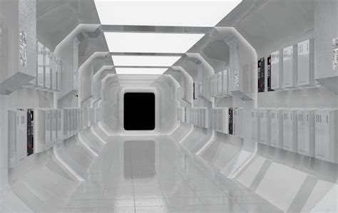 star wars interior design clean corridors the heuristic protocol pinterest