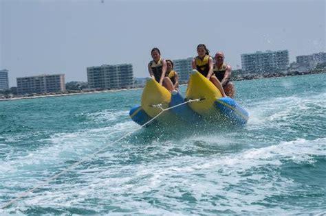 destin boat rides banana boat ride destin florida picture of mobile sports