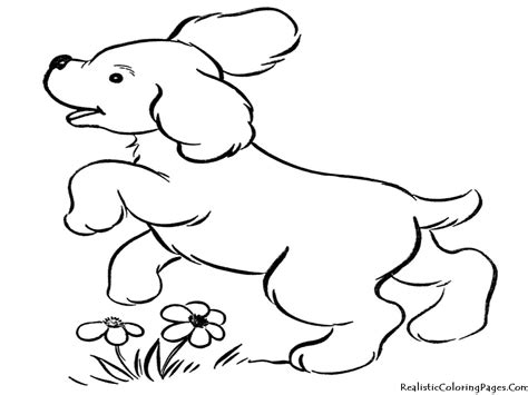 puppy coloring page realistic coloring pages of dogs realistic coloring pages