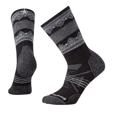 pattern running socks smartwool women s phd outdoor medium pattern crew running