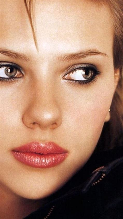 blondes women scarlett johansson actress lips faces