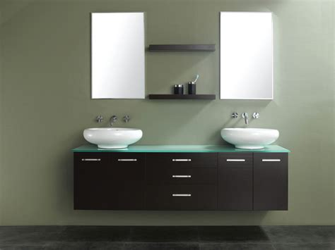 58 bathroom vanity double sink 58 quot millenium double vessel sink vanity modern