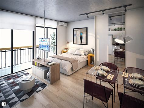 decorate studio apartment 5 small studio apartments with beautiful design